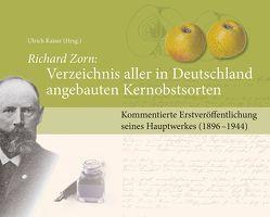 Richard Zorn: Verzeichnis aller in Deutschland angebauten Kernobstsorten von Kaiser,  Ulrich
