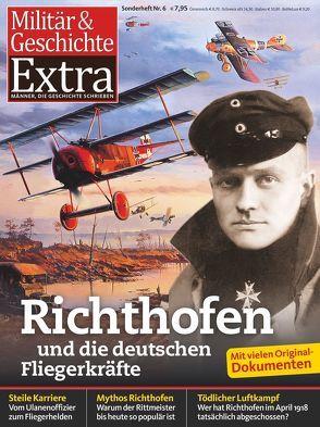 Richthofen und die deutschen Fliegerkräfte