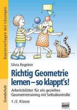 Richtig Geometrie lernen – so klappt's! / 1./2. Klasse – Kopiervorlagen mit Lösungen