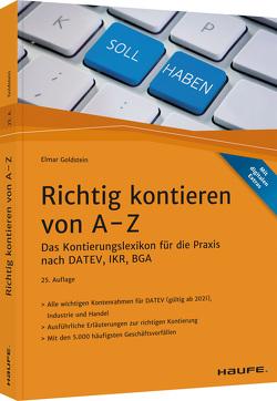 Richtig kontieren von A-Z von Goldstein,  Elmar