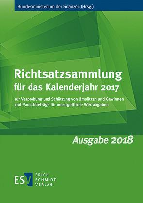 Richtsatzsammlung für das Kalenderjahr 2017