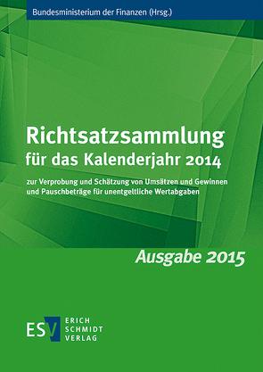 Richtsatzsammlung für das Kalenderjahr 2014