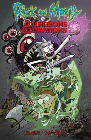 Rick and Morty vs. Dungeons & Dragons von Hoffmann,  Oliver, Little,  Troy, Rothfuss,  Patrick, Zub,  Jim