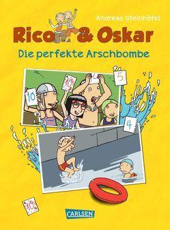 Rico & Oskar (Kindercomic): Die perfekte Arschbombe von Schössow,  Peter, Steinhöfel,  Andreas, Steinhöfel,  Dirk