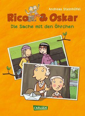Rico & Oskar (Kindercomic): Die Sache mit den Öhrchen von Schössow,  Peter, Steinhöfel,  Andreas, Steinhöfel,  Dirk