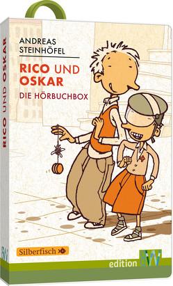 Rico und Oskar, die Hörbuchbox von Steinhöfel,  Andreas, Steinhöfel,  Andreas Steinhöfel