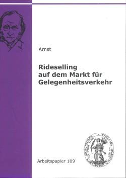 Rideselling auf dem Markt für Gelegenheitsverkehr von Arnst,  Alena