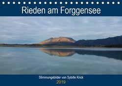 Rieden am Forggensee (Tischkalender 2019 DIN A5 quer) von Krick,  Sybille