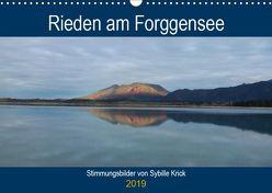 Rieden am Forggensee (Wandkalender 2019 DIN A3 quer) von Krick,  Sybille