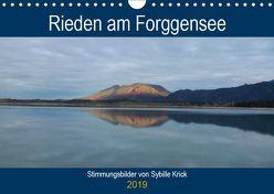 Rieden am Forggensee (Wandkalender 2019 DIN A4 quer) von Krick,  Sybille