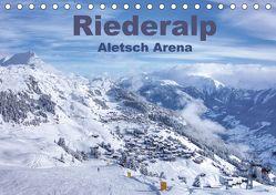 Riederalp – Altesch Arena (Tischkalender 2018 DIN A5 quer) von Vogler,  Andreas