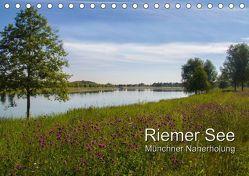 Riemer See (Tischkalender 2018 DIN A5 quer) von Lindhuber,  Josef