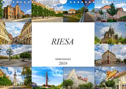 Riesa Impressionen (Wandkalender 2019 DIN A4 quer) von Meutzner,  Dirk