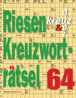 Riesen-Kreuzworträtsel 64 von Krüger,  Eberhard