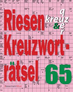 Riesen-Kreuzworträtsel 65 von Krüger,  Eberhard