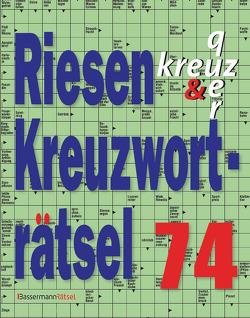 Riesen-Kreuzworträtsel 74 (5 Exemplare à 2,99 €) von Krüger,  Eberhard