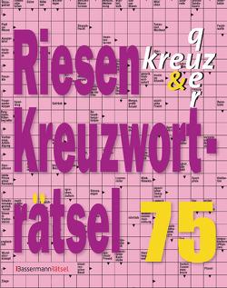Riesen-Kreuzworträtsel 75 von Krüger,  Eberhard