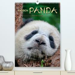 Riesenpanda (Premium, hochwertiger DIN A2 Wandkalender 2020, Kunstdruck in Hochglanz) von Roder,  Peter