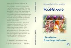 Rietavas von Richter-Kariger,  Alexander