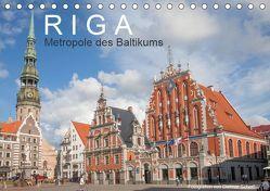 Riga – Metropole des Baltikums (Tischkalender 2019 DIN A5 quer) von Scherf,  Dietmar