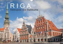 Riga – Metropole des Baltikums (Wandkalender 2019 DIN A3 quer) von Scherf,  Dietmar