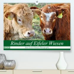 Rinder auf Eifeler Wiesen (Premium, hochwertiger DIN A2 Wandkalender 2020, Kunstdruck in Hochglanz) von Glineur,  Jean-Louis