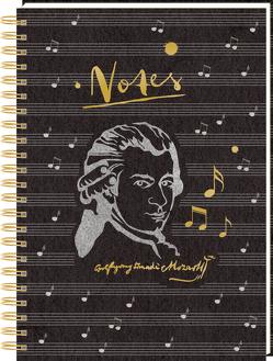 Ringbuch DIN A4 – Notes – Edition Mozart von Ebbert,  Leonie, Sander,  Gesa