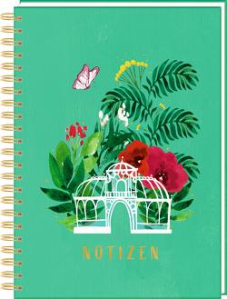 Ringbuch DIN A4 – Notizen – Frühling im Herzen von Labs,  Kristina