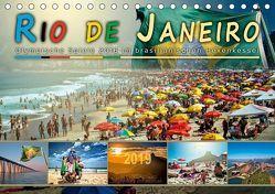 Rio de Janeiro, Olympische Spiele 2016 im brasilianischen Hexenkessel (Tischkalender 2019 DIN A5 quer) von Roder,  Peter