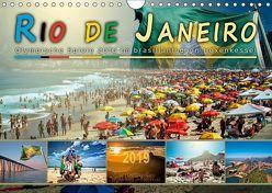 Rio de Janeiro, Olympische Spiele 2016 im brasilianischen Hexenkessel (Wandkalender 2019 DIN A4 quer) von Roder,  Peter