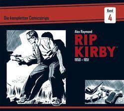 Rip Kirby: Die kompletten Comicstrips / Band 4 1950 – 1951 von Greene,  Ward, Raymond,  Alex, Schulz,  Mik