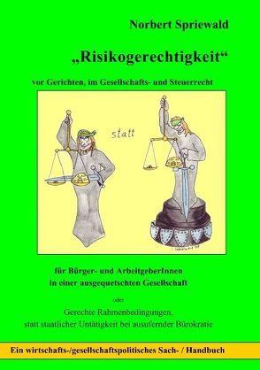 Risikogerechtigkeit von Spriewald,  Norbert