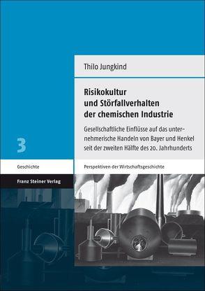 Risikokultur und Störfallverhalten der chemischen Industrie von Jungkind,  Thilo