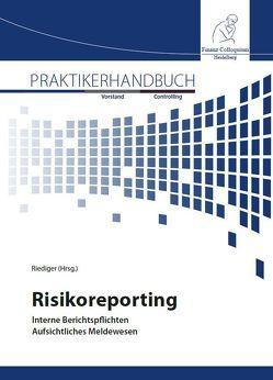 Risikoreporting von Riediger,  Henning