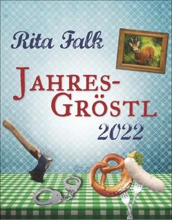 Rita Falk Jahres-Gröstl Tagesabreißkalender 2022 von Heye