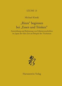"""""""Riten"""" beginnen bei """"Essen und Trinken"""" von Kinski,  Michael"""