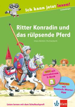 Ritter Konradin und das rülpsende Pferd von Eisenbarth,  Pia, Maifeld,  Chiara