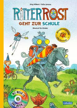 Ritter Rost 8: Ritter Rost geht zur Schule (limitierte Sonderausgabe) von Hilbert,  Jörg