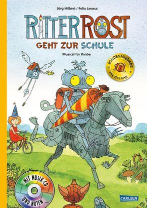 Ritter Rost 8: Ritter Rost geht zur Schule (limitierte Sonderausgabe) von Hilbert,  Jörg, Janosa,  Felix