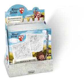 Ritter Trenk Display Zaubermalbuch von Boie,  Kirsten