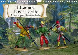 Ritter und Landsknechte, Miniaturplastiken aus Berlin (Wandkalender 2020 DIN A4 quer) von Huschka,  Klaus-Peter