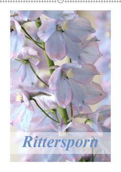 Rittersporn (Wandkalender 2019 DIN A2 hoch) von Kruse,  Gisela