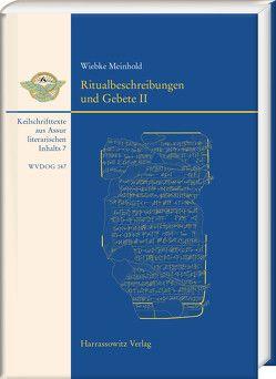 Ritualbeschreibungen und Gebete II von Meinhold,  Wiebke