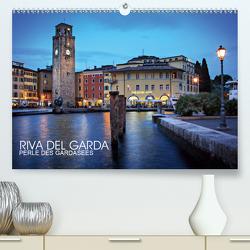Riva del Garda – Perle des Gardasees (Premium, hochwertiger DIN A2 Wandkalender 2021, Kunstdruck in Hochglanz) von Thoermer,  Val