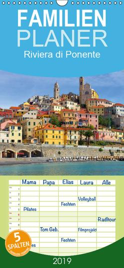 Riviera di Ponente – Familienplaner hoch (Wandkalender 2019 , 21 cm x 45 cm, hoch) von LianeM