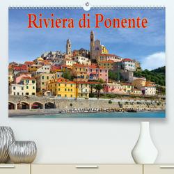 Riviera di Ponente (Premium, hochwertiger DIN A2 Wandkalender 2021, Kunstdruck in Hochglanz) von LianeM
