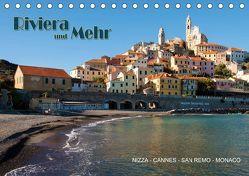 Riviera und Mehr – Nizza, Cannes, San Remo, Monaco (Tischkalender 2019 DIN A5 quer) von Koch,  Hermann