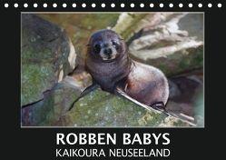 Robben Babys – Kaikoura Neuseeland (Tischkalender 2018 DIN A5 quer) von Bort,  Gundis