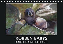Robben Babys – Kaikoura Neuseeland (Tischkalender 2021 DIN A5 quer) von Bort,  Gundis
