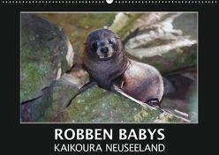 Robben Babys – Kaikoura Neuseeland (Wandkalender 2018 DIN A2 quer) von Bort,  Gundis